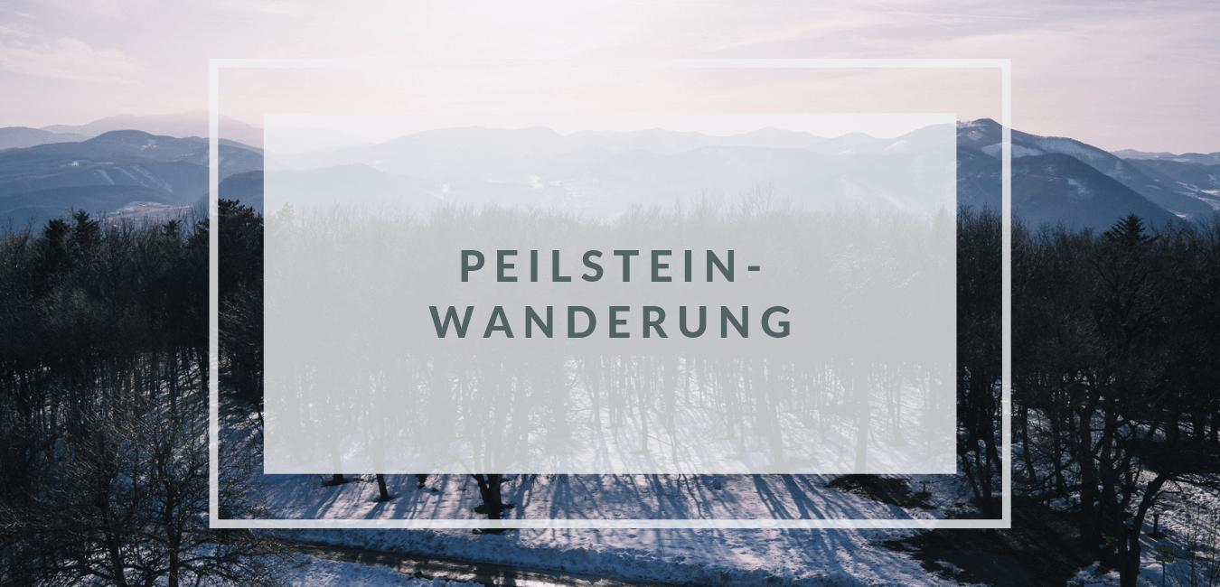 Gemütliche Wanderung auf den Peilstein